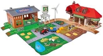 Majorette Creatrix Big Farm Playset And 5 cars