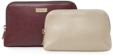 Furla Classic Leather Cosmetic Case Set