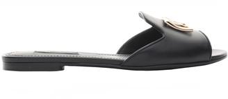 Dolce & Gabbana Open Flat Slides