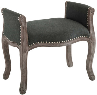 Modway Avail Vintage French Upholstered Bench