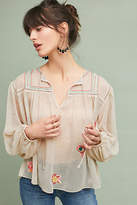 Ranna Gill Westown Embroidered Peasant Top