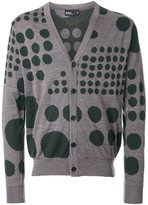 Kolor dot pattern cardigan - men - Wool - 1