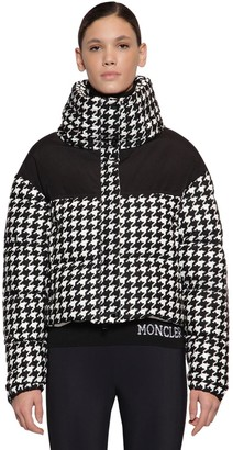 Moncler NIL HOUNDS TOOTH NYLON DOWN JACKET
