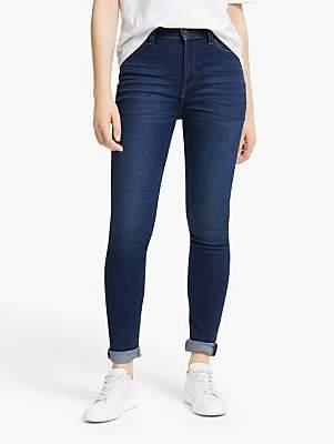Lee Ivy High Waist Super Skinny Jeans, Dark Wardell