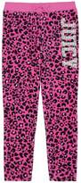 Juicy Couture Leopard Velour Juicy 74 Slim Pant for Girls