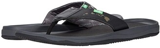Sanuk Tripper H20 Yeah Hi (Black) Men's Shoes