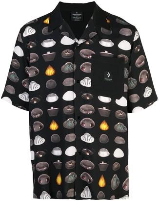 Marcelo Burlon County of Milan Ufo Pattern Camp Shirt