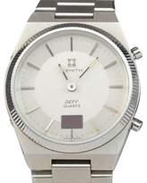 Zenith Defy 01.0080.470 Red LED Digital Analog Quartz Mens Vintage Watch