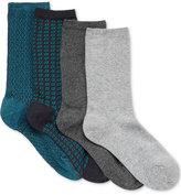 Gold Toe Women's 4-Pk. Diamonds Collection Socks