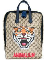 Gucci Kids tiger print backpack