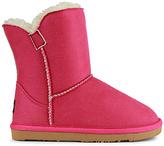 Lamo Hot Pink Little Essex Suede & Wool Boot - Kids