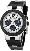Bulgari Diagono Aluminum Chronograph Mens Watch