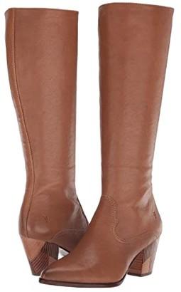 Frye Reed Inside-Zip Tall (Black) Women's Boots