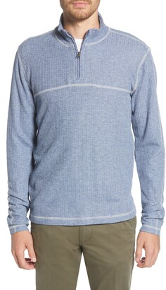 Vintage 1946 Quarter Zip Sweater