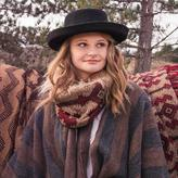 Muk Luks Women's Tribal Funnel Scarf