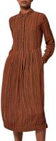 Toast Vertical Stripe Print Dress, Gnger