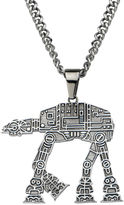 Star Wars FINE JEWELRY AT-AT Walker Mens Stainless Steel Pendant Necklace