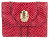 Judith Leiber Karung Mini Compact Wallet