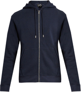 A.P.C. Cotton-blend hooded sweatshirt