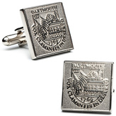 Ice Dartmouth College Silver Edition Cufflinks