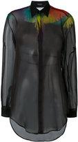 Marcelo Burlon County of Milan multicoloured wings shirt - women - Polyester - S