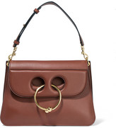 J.W.Anderson Pierce Medium Leather Shoulder Bag - Tan