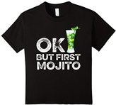 Kids OK But First Mojito T-Shirt Funny Drinking Alcohol Cocktail 8