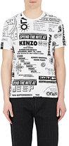 Kenzo Men's Flyer-Print Cotton T-Shirt