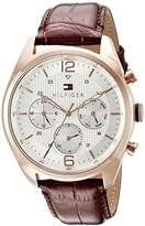 Tommy Hilfiger Men's 1791183 Sophisticated Sport Analog Display Quartz Brown Watch