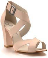 Women's Shoes Of Prey Crisscross Strap Block Heel Sandal