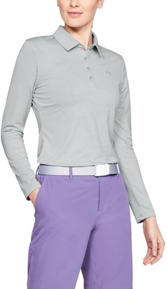 Under Armour Women's UA Zinger Long Sleeve Polo