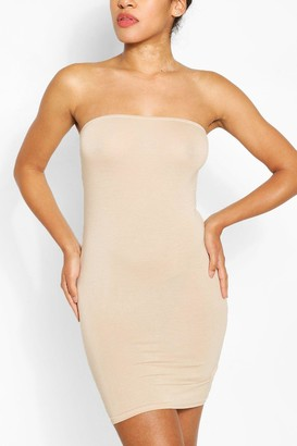 boohoo Bandeau Jersey Bodycon Dress