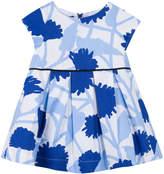 Jean Bourget Mc Imp Printed Pleated Dress