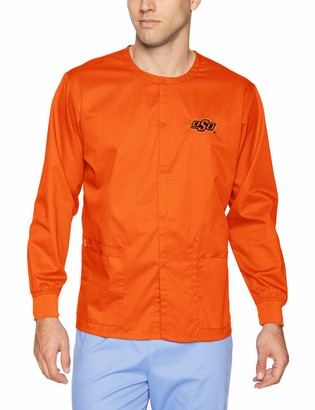 WONDERWINK Unisex-Adult's Oklahoma State University Snap Front Jacket