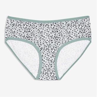 Joe Fresh Women's Cotton-Blend Hipster, Print 5 (Size XL)
