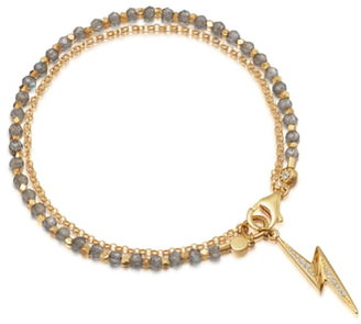 Astley Clarke Labradorite Lightning Bolt Biography Bracelet