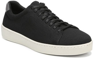 Vince Silas Low-Top Knit Sneakers