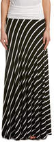 Olivaceous Stripe Maxi Dress