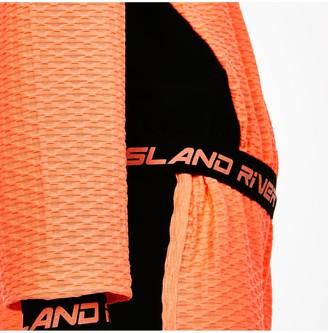 River Island Girls Active Hoodieand Short Set-Orange