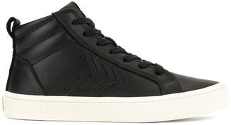 Cariuma CATIBA High Black Premium Leather Sneaker