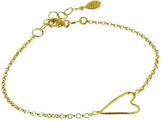 Yvonne Henderson Jewellery Open Wire Heart Bracelet