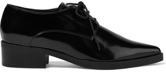 Stella McCartney Faux Glossed-leather Brogues