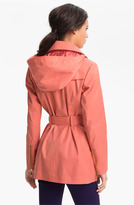 Vince Camuto 'Ashley' Moto Trench Coat
