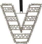 Wire Letter Ornament, V