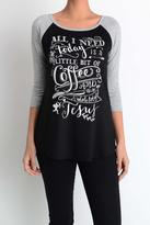 Lovely Souls Clothing Coffee & Jesus Tee