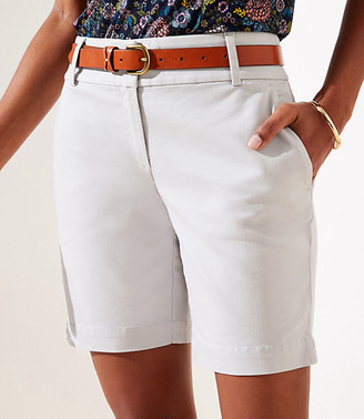 LOFT Riviera Shorts with 8 Inch Inseam