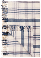 John Lewis Croft Collection Snowshill Appin Check Wool Throw