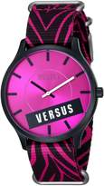 Versus By Versace Women's SO6100014 Less Canvas Watch