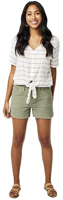 Carve Designs Oahu Short (Moss) Women's Shorts