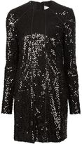 Victoria Beckham sequin panel dress